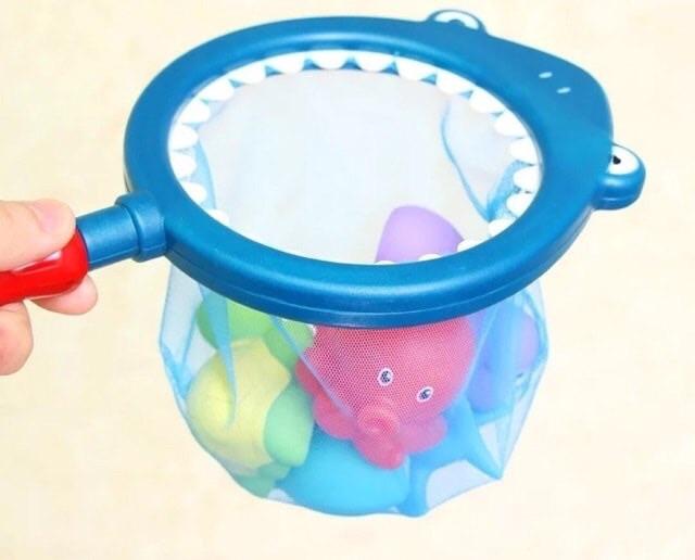 Bộ đồ chơi vợt tắm cho bé
