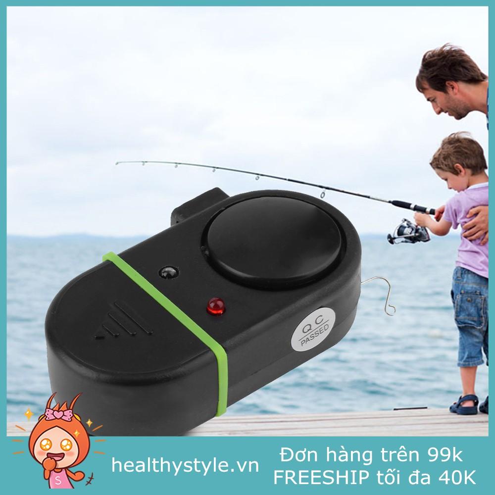 🎐HS🎐Chuông điện có đèn LED báo cá cắn câu