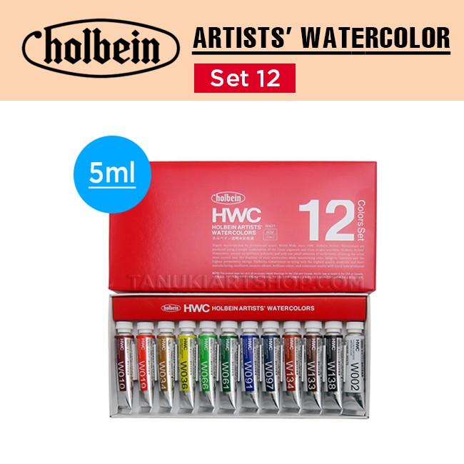 Màu nước Holbein set 5ml