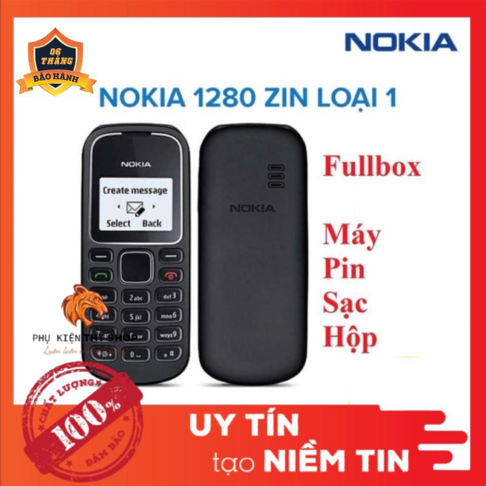 Điện thoại Nokia 1280 xịn - Đã bao gồm PIN và SẠC - Nokia Giá Rẻ - Hàng công ty