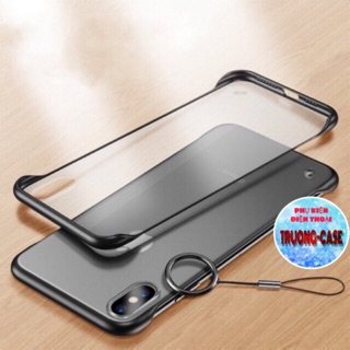 ỐP IPHONE KHÔNG VIỀN,CHỐNG NÓNG MÁY-TỪ 6-XS MAX (dây Shop bán riêng)