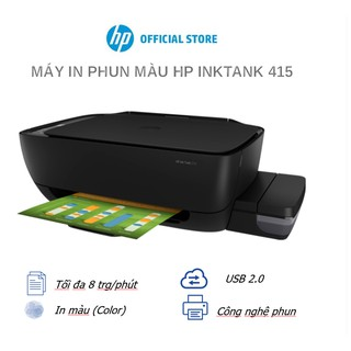 Máy In Phun Màu Đa Năng HP Ink Tank 315 (In Copy Scan Đen-Z4B04A) - Hàng Chính Hãng
