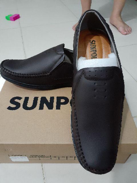 Đánh giá sản phẩm Giày Mọi Nam Da Bò SUNPOLO Đen Nâu - SU2098DN của nguyendungis2000