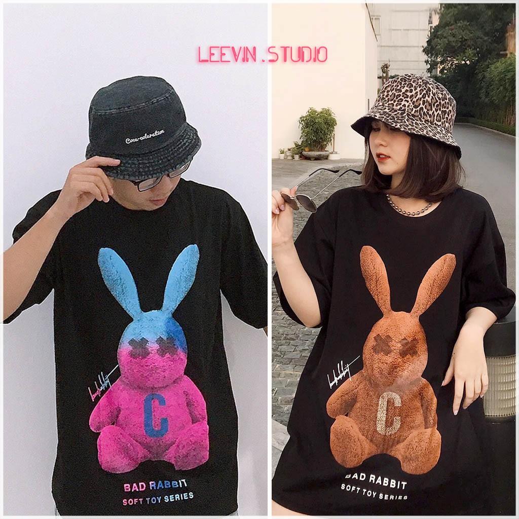 Áo Thun Nam Nữ Bad Rabbit SOFT TOY Unisex - Kiểu áo phông nữ form rộng tay lỡ Ulzzang hình thỏ Nelly Leevin Store