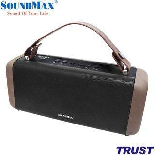 [Mã ELMS05 giảm 5% đơn 300K] Loa di động Bluetooth SoundMax SB206 - Chính hãng