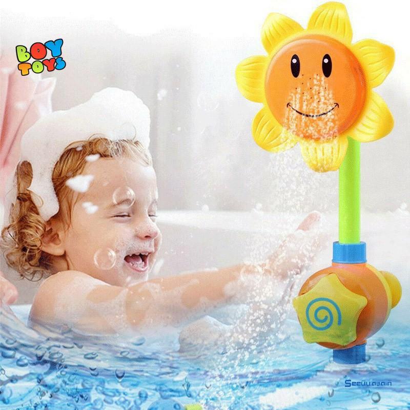 Đồ chơi nhà tắm vòi sen hoa hướng dương đáng yêu cho bé
