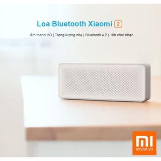 Loa Bluetooth Xiaomi Square Box Gen 2 Phiên bản 2017 - Hàng chính hãng