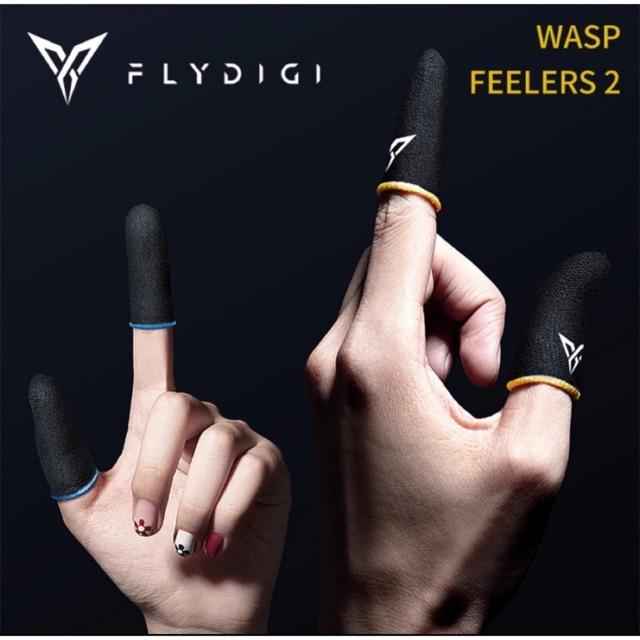 [Thế hệ mơi] Flydigi Wasp Feelers 2   Găng tay chơi game PUBG, Liên quân, chống mồ hôi, cực nhạy