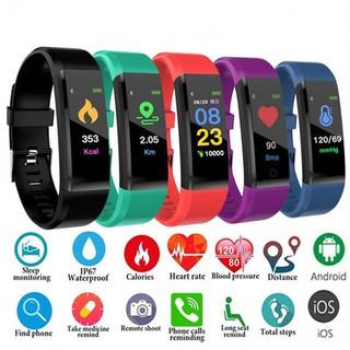 Đồng hồ thông minh LD115 plus hỗ trợ theo dõi sức khỏe kèm phụ kiện cao cấp
