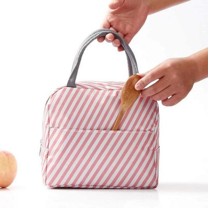 Túi đựng hộp cơm giữ nhiệt cho dân văn phòng mẫu mới có khóa kéo (MS03)