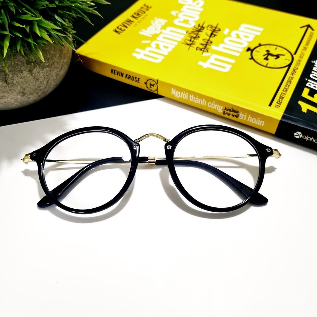 Gọng kính Glasses Garden retro dáng bầu 207 – Có lắp mắt cận theo yêu cầu