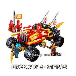 Bộ Lego Lắp Ráp PRCK Shinobi 61013. Có 317 Mảnh Ghép.