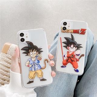 Ốp Lưng Hoạt Hình Dragon Ball Cho Iphone 12 / Pro / Max / Mini / 11 / Xs Max / Xr / X / I7 / 7p / 8 / 8 Plus