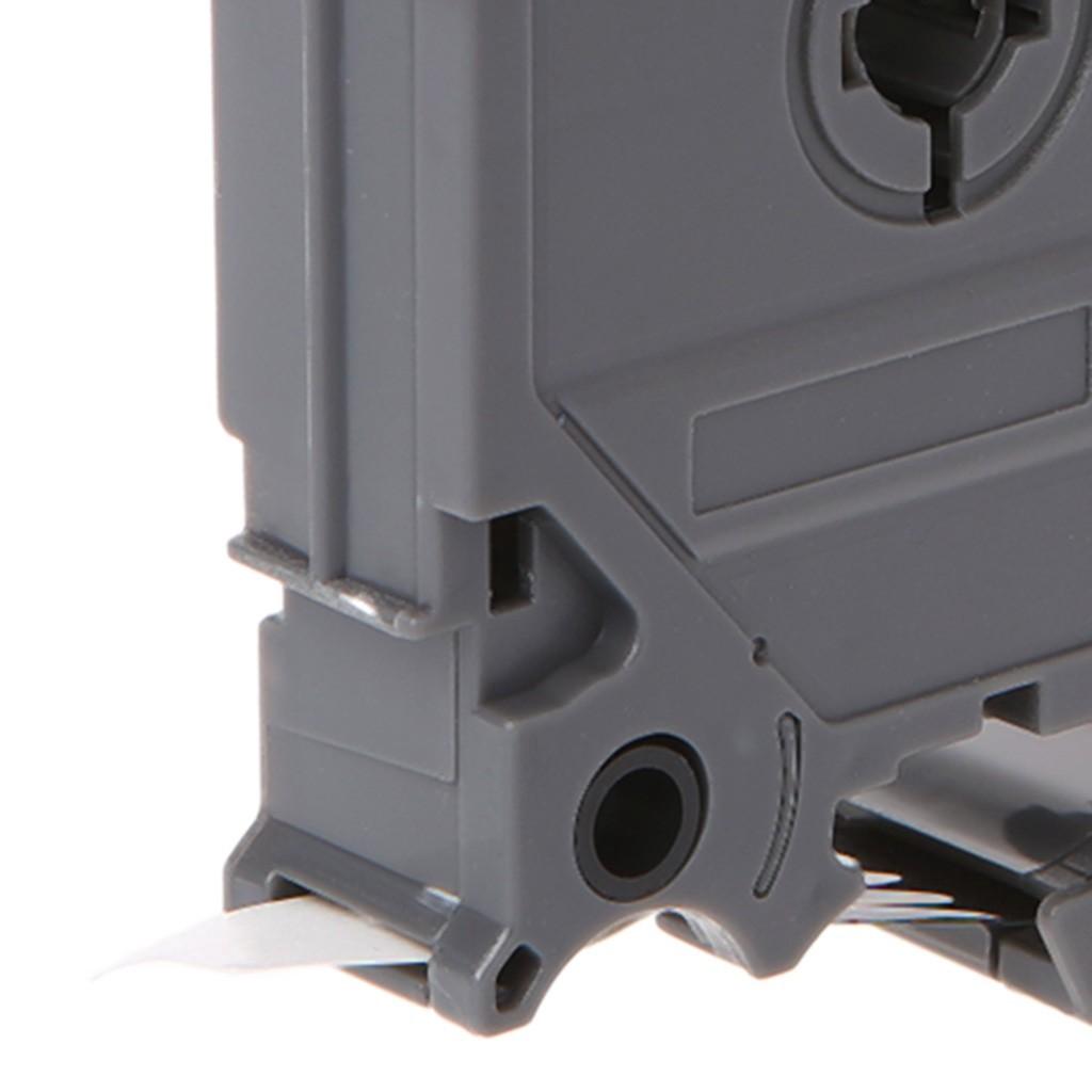 Băng nhãn tze-12mm cho máy in Brother p-touch