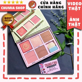 Má hồng phấn BENEFIT Cheekleaders PINK SQUAD Cheek Palette - chumia thumbnail