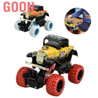 Goon Monster Trucks Toy for boys Friction-driven mini-game set push-and-go cars Girls Toddlers aged 2 3 4
