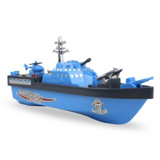 Simulate Electric Boat Shape Beach Bath Water Play Educational Toy for Kids