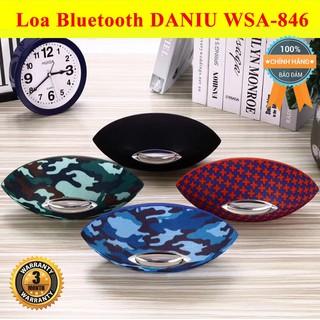 Loa bluetooth chính hãng Daniu WSA-846 ♥️Freeship♥️ Giảm 30k khi nhập MAYT30 - Loa di dộng bluetooth mini giá rẻ