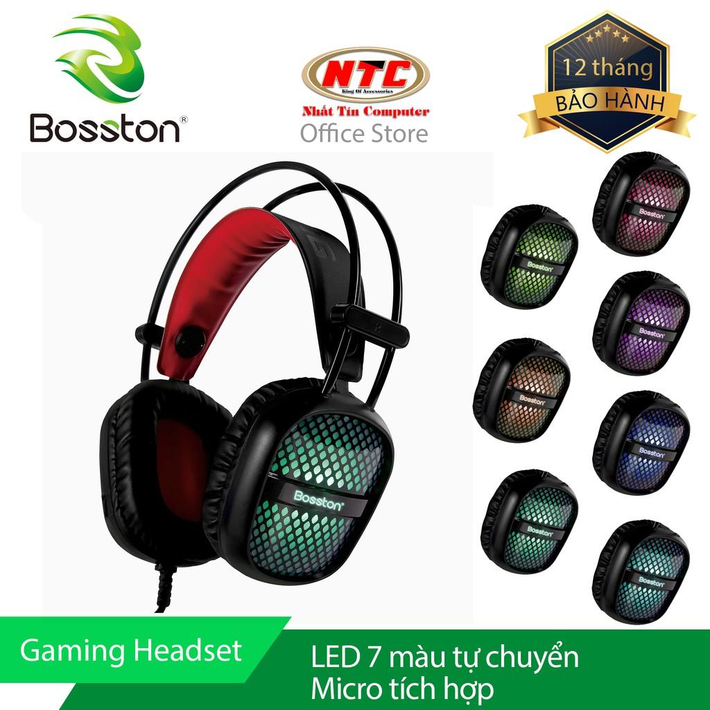 Tai nghe chụp tai chuyên Game Bosston HS100 Led đa màu (Đen) - Hãng phân phối chính thức - 2535713 , 476419043 , 322_476419043 , 248000 , Tai-nghe-chup-tai-chuyen-Game-Bosston-HS100-Led-da-mau-Den-Hang-phan-phoi-chinh-thuc-322_476419043 , shopee.vn , Tai nghe chụp tai chuyên Game Bosston HS100 Led đa màu (Đen) - Hãng phân phối chính thức