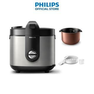 Nồi Cơm Điện Nắp Gài Philips 2.0L HD3132 66 - Hàng Chính Hãng thumbnail