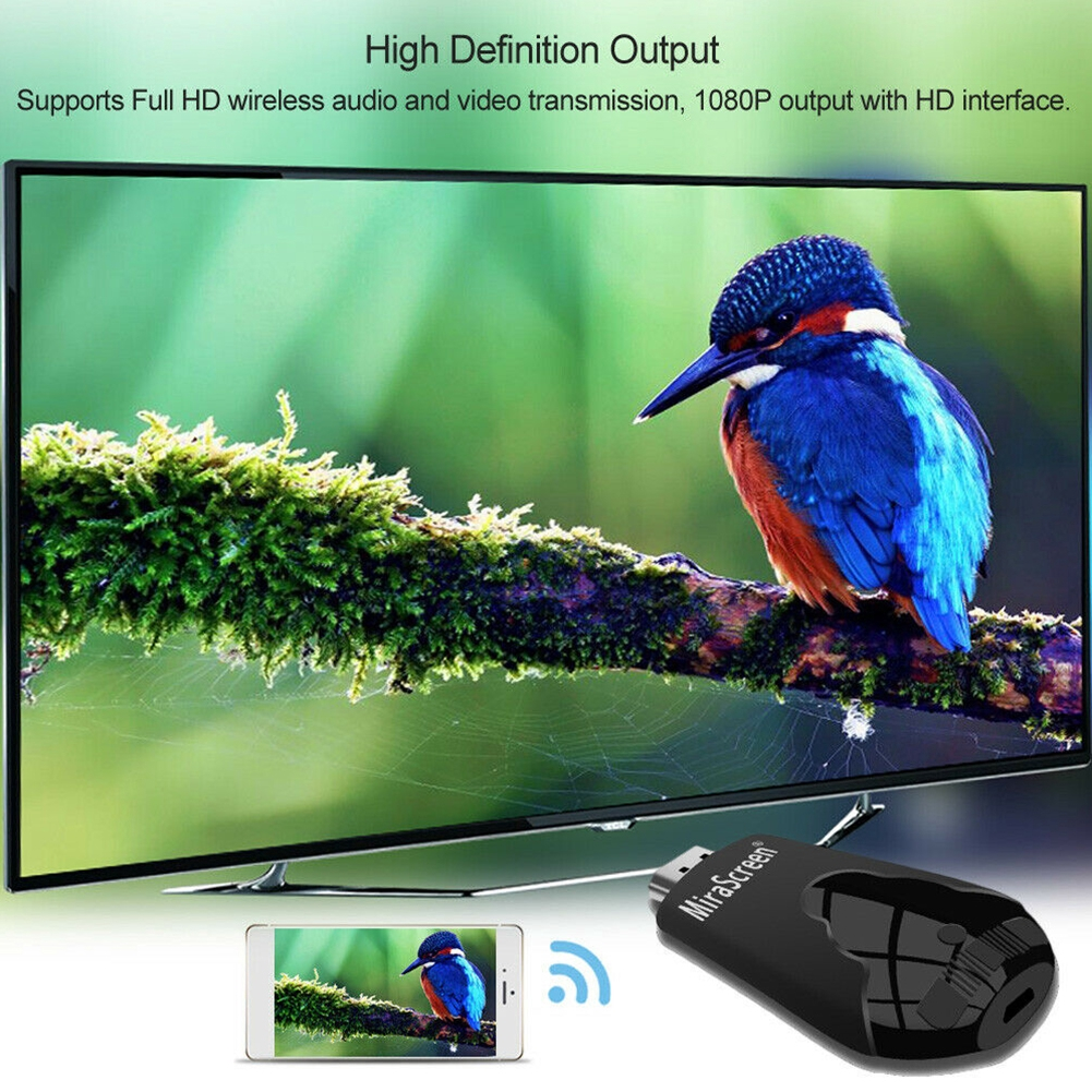 Wireless HDMI Wide Use Office Mini Universal Phone Teaching Meeting PC Home WIFI Display Dongle