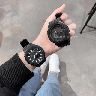 Đồng hồ nam, nữ WR unisex dây nhựa kiểu dáng năng động cho tuổi teen