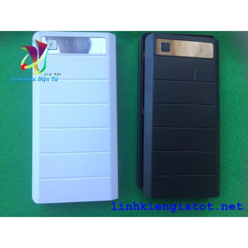 Box 8 cell 5V 2A hiển thị led 7 thanh có lò xo (không pin - có lò xo)