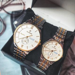 Đồng hồ đôi nam nữ Sunrise 2109SA và 1109SA Chính hãng Sapphire Chống Xước , Chống Nước thumbnail