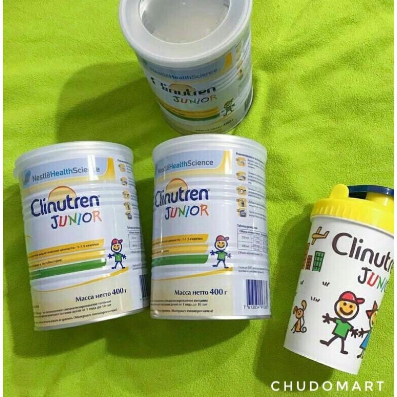 [Date 2022] Sữa béo Clinutren Junior Nga 400g