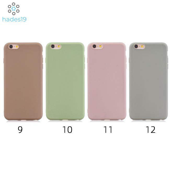 For iPhone 7 plus-8 plus Lovely Candy Color Matte TPU Anti-scratch Non-slip Protective Cover Back