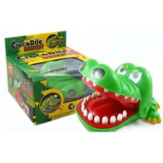 [Mã NOWSHIPVUI2 giảm 25k đơn 50k] Đồ chơi cá sấu cắn tay cho bé