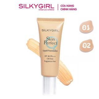 Kem Nền Dạng Lỏng Silkygirl Skin Perfect Liquid Foundation SPF30 PA+++ 25ml thumbnail