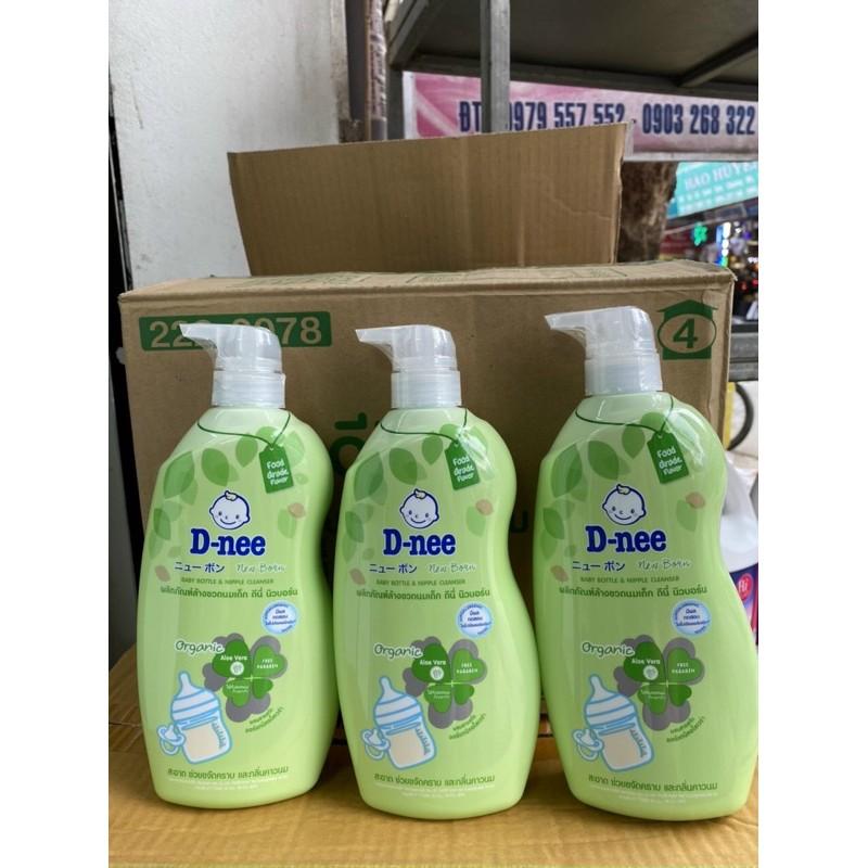 Nước Rửa Bình Sữa Chai Dnee 620 ML- Thái Lan