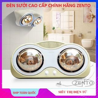Đèn Sưởi Nhà Tắm 3 Bóng Zento ZT3-GOLD, Đèn 2 Bóng Cao Cấp Zento ZT2-GOLD Chính Hãng – Bảo Hành 24 Tháng
