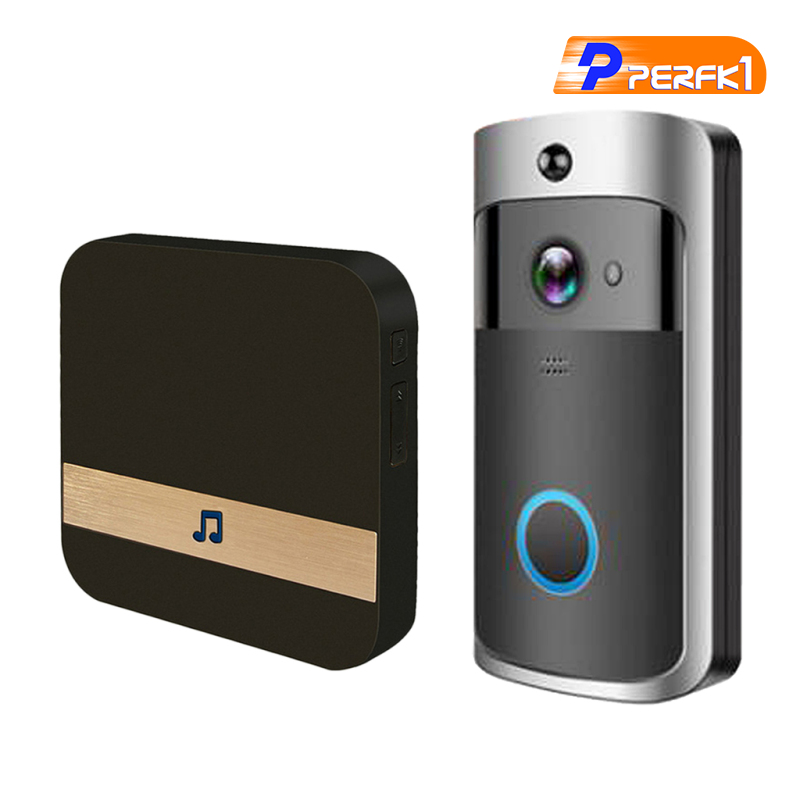 Chuông Cửa Thông Minh Kết Nối Wifi 1080p Ir-Cut