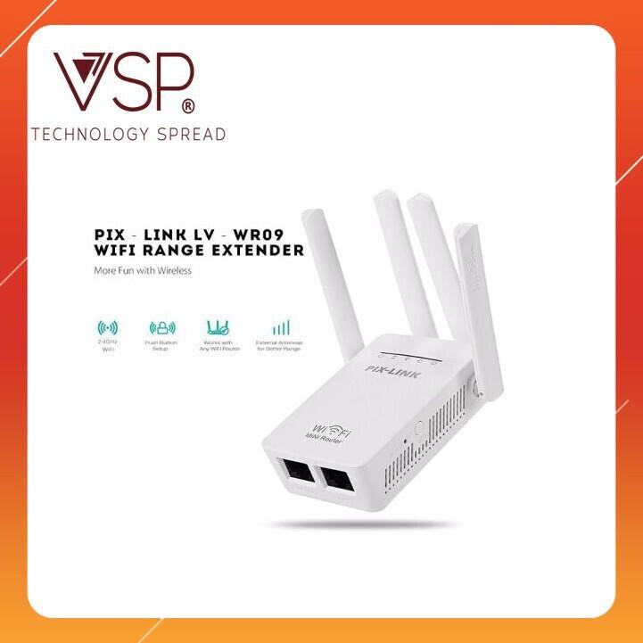 [Cơn Lốc] Thiết bị Kích Sóng WIFI PIX-LINK 4 anten Giá chỉ 322.500₫