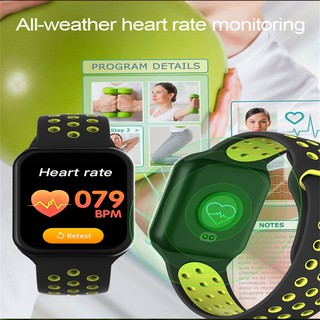 port Fitness Tracker F8 mart Heart Rate Monitor Wristband