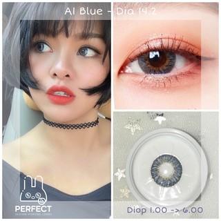 (Giá 1 Chiếc) 14.2 (0.00 - 6.00) Lens A1 Blue - Kính Áp Tròng thumbnail