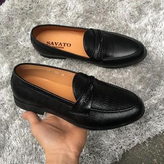 Giày Lười Nam Công Sở Chất Liệu Da Bò Thật GY059