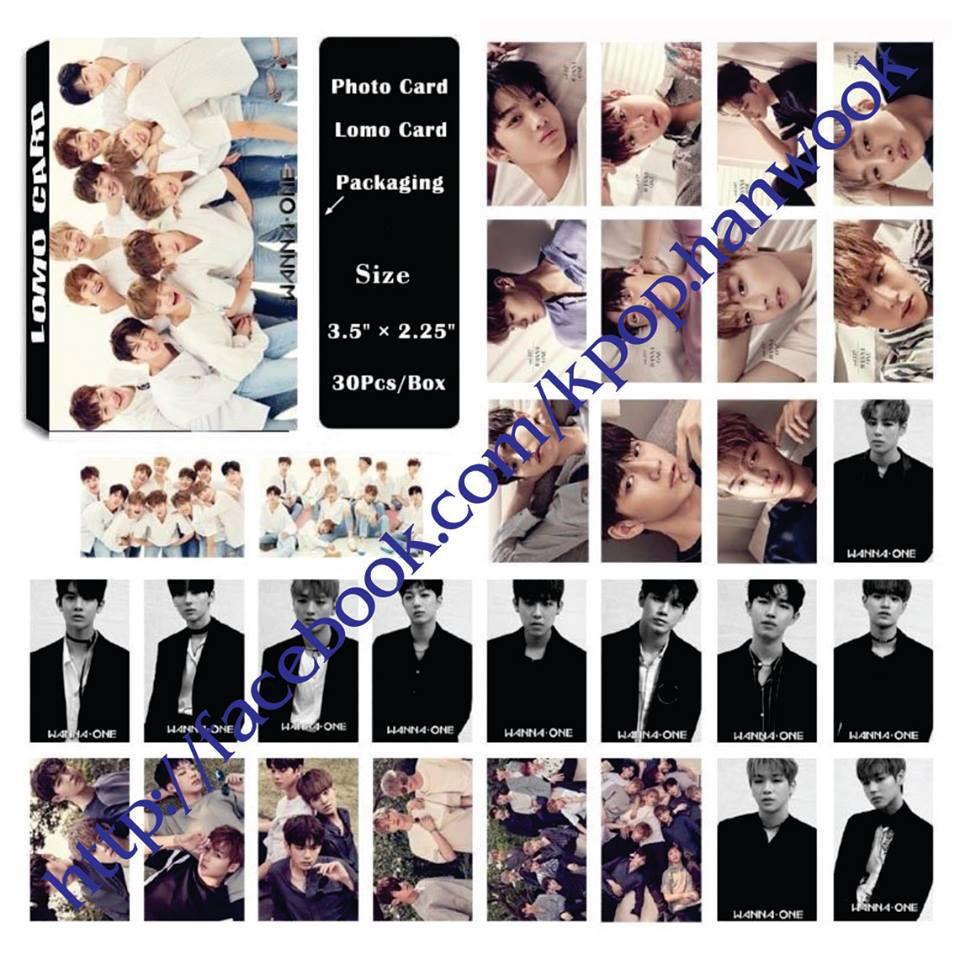 Hộp Lomo Card Wanna One 01 - có nhiều mẫu Kpop