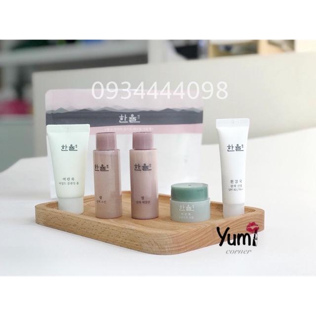 Bộ mini các sản phẩm Hanyul