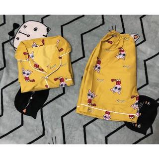 [Loại 1] Đồ bộ cộc tay ngắn – quần ngắn – Full Viền (Kate Thái)