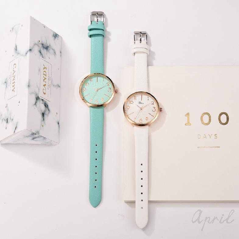 Đồng hồ điện tử Unisex cổ điển Hàn Quốc