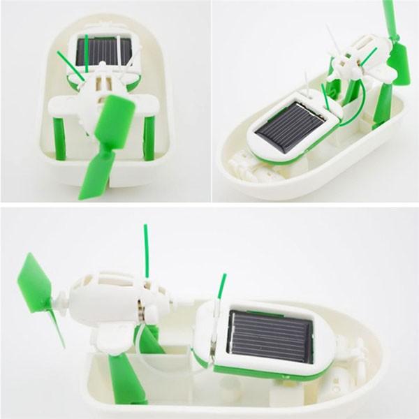 Bộ đồ chơi Robot Kit lắp ghép bằng pin năng lượng mặt trời 6 in 1