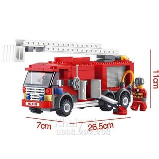 Lego xe cứu hỏa