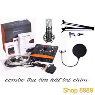 combo Sound Card Icon Uopd Pro Và Mic Takstar Pc K600 hàng chính hãng