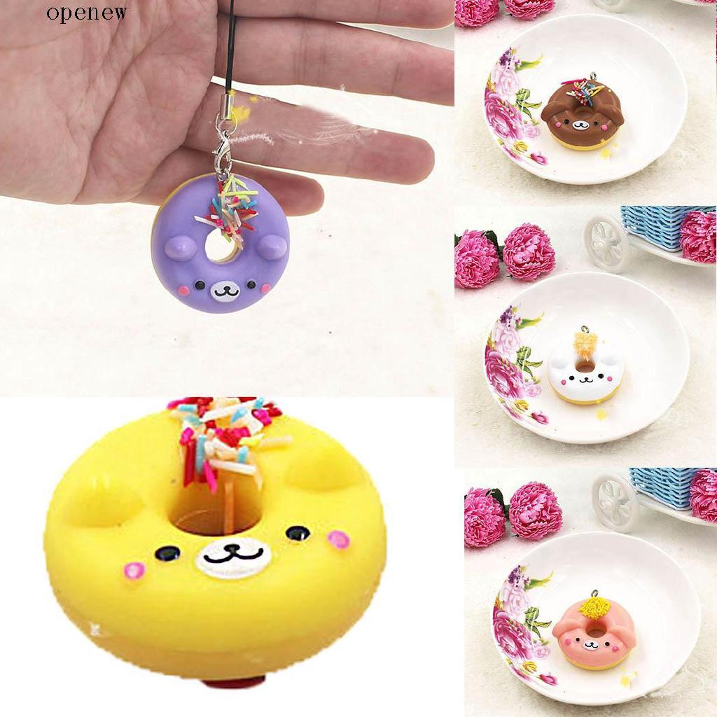 op Artificial Bread Simulation Donuts Model Ornament Home Decoration Craft Toys
