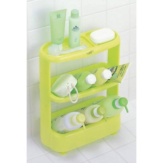 Giá để đồ dùng nhà tắm 3 tầng màu xanh Inomata - JP670 - 22092201 , 2056124631 , 322_2056124631 , 210000 , Gia-de-do-dung-nha-tam-3-tang-mau-xanh-Inomata-JP670-322_2056124631 , shopee.vn , Giá để đồ dùng nhà tắm 3 tầng màu xanh Inomata - JP670