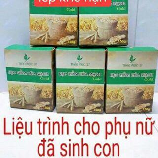 Sỉ 6 hộp kẹo mầm lúa mạch gold Của Thảo mộc 37a