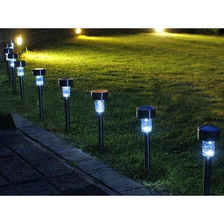 Light shop - Bộ 10 đèn trang trí sân vườn năng lượng mặt trời Ánh sáng trắng